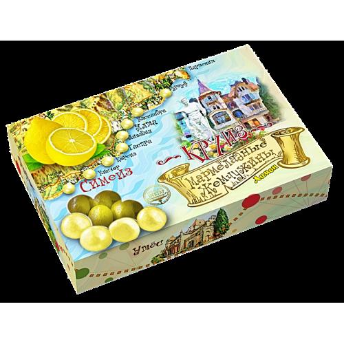 Драже «Мармеладные жемчужины «Лимон»
