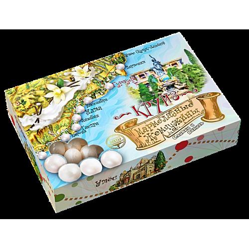 Драже «Мармеладные жемчужины «Сливки-ваниль»